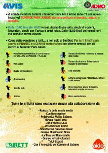 Locandina Summer Park Junior Pagina 2 png