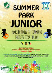 Locandina Summer Park Junior Pagina1 png